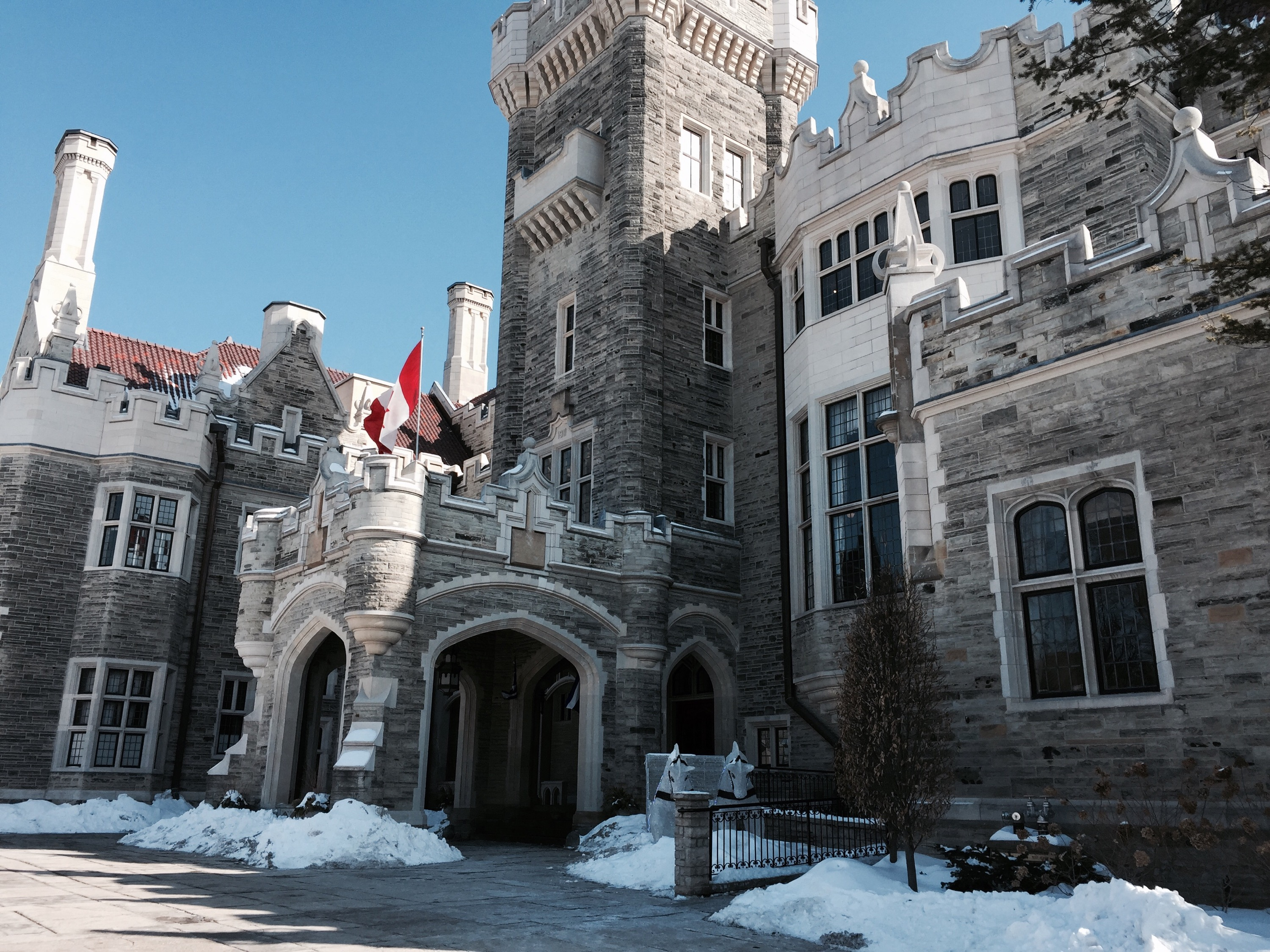 Entrance of Casa Loma