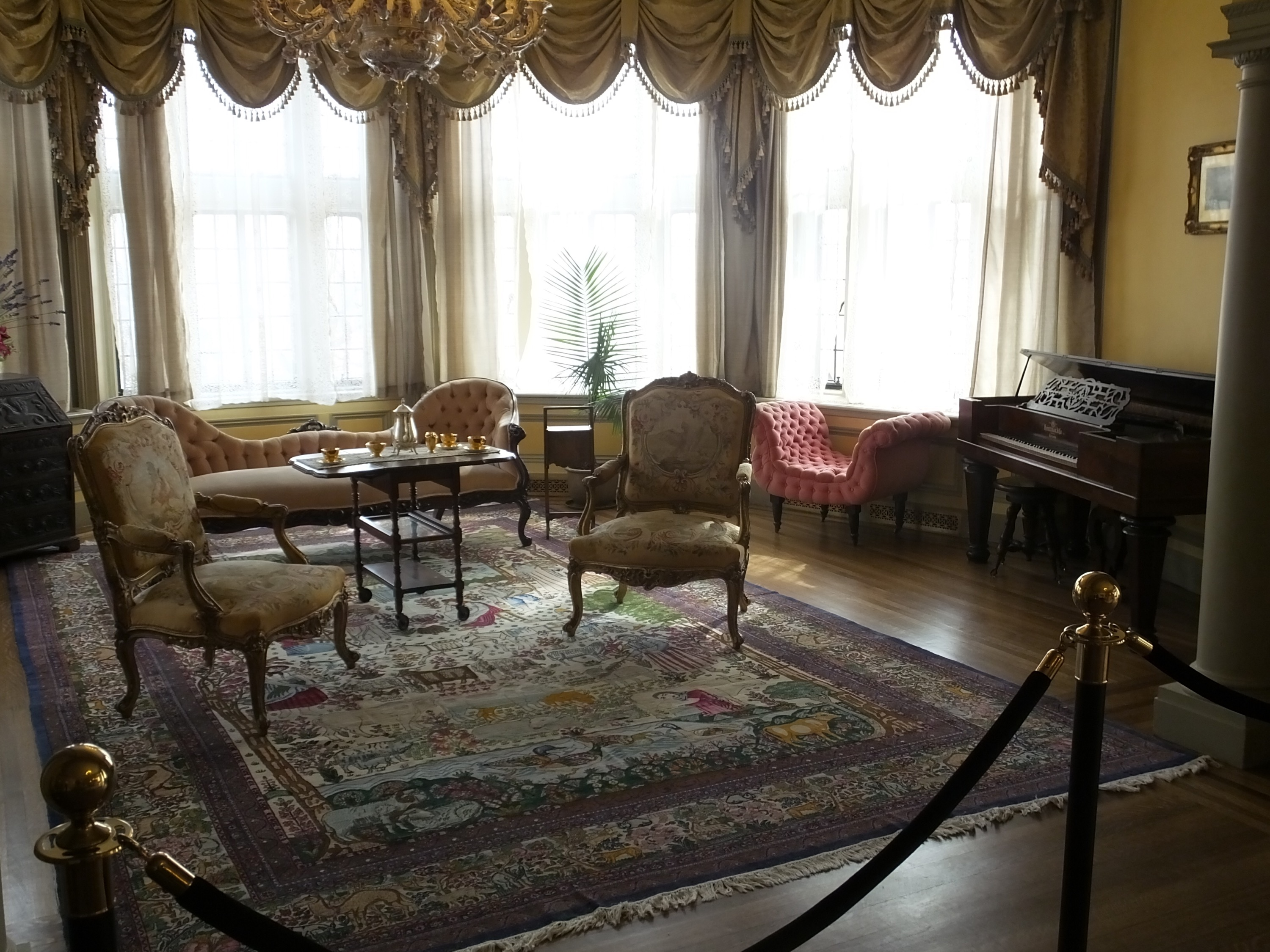 Lady Pellatt's sitting room