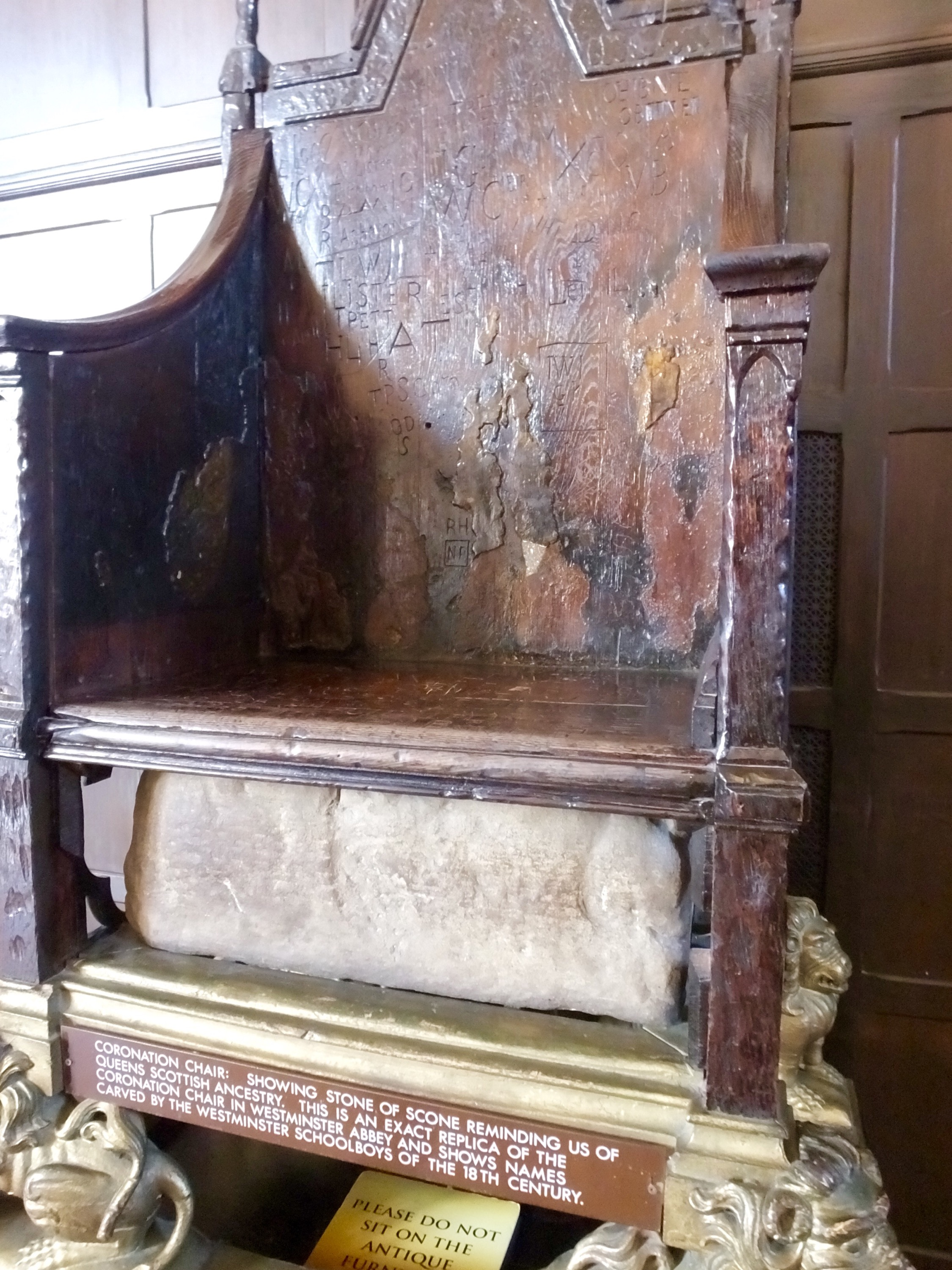 Scottish Coronation Chair