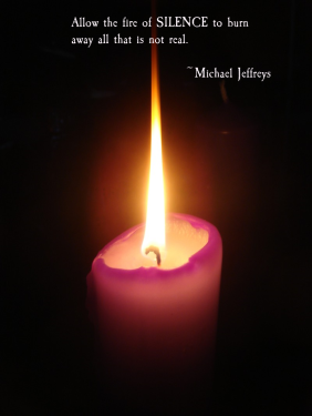 mj-fire-of-silence-quote-candle-pic
